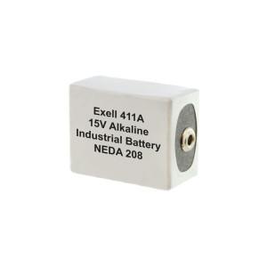 Exell Battery 411A 208 Alkaline