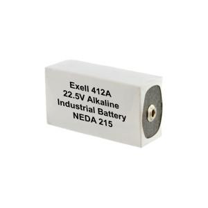 Exell Battery 412A 215 Alkaline