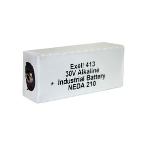 Exell Battery 413A 210 Alkaline