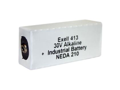 Exell Battery 413A NEDA 210 Alkaline 30V