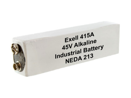 Exell Battery 415A NEDA 213 Alkaline 45V