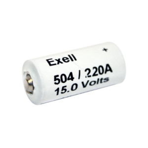 Exell 504A Neda 220 Battery