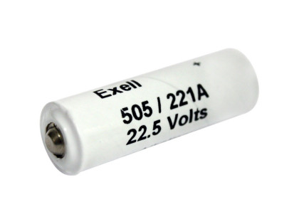 Exell Battery 505A NEDA A221 Alkaline 22.5V