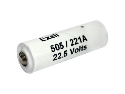 Exell Battery 505A NEDA A221 Alkaline 22.5V