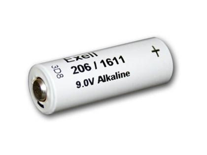 Exell Battery 206A NEDA 1605 Alkaline 9V