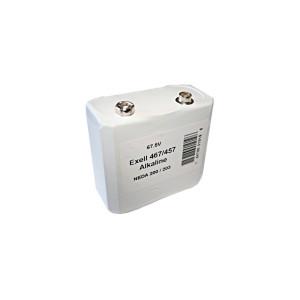 Exell 457 Alkaline 67.5V Battery NEDA 203