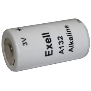 Exell A132 Alkaline 3V Battery TR132, PC132A, EN132A