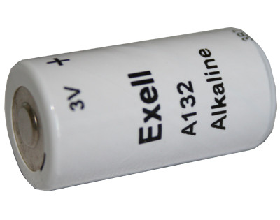 Exell Battery A132 NEDA 1200A Alkaline 3V