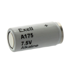 Exell A175 Alkaline 7.5V Battery TR175, MN175, 1501