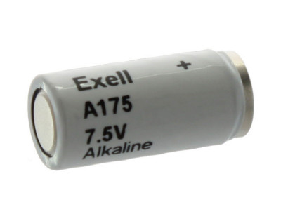 Exell Battery A175 NEDA 1501A Alkaline 7.5V