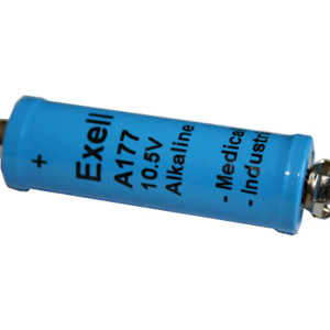 Exell A177 Alkaline 10.5V Battery PC177A, EN177A, TR-177
