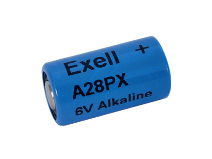 Exell Battery A28PX NEDA 1406LC Alkaline 6V
