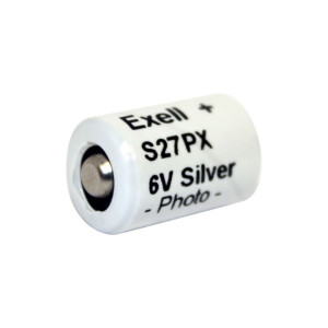 Exell S27PX  6V Silver Oxide Battery EPX27 V27PX 4NR43 KX27 HS3C