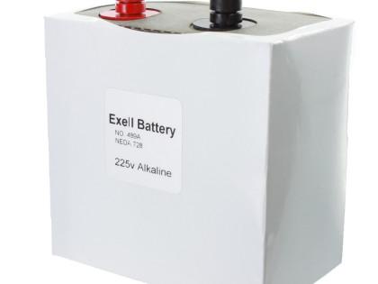 Exell Battery 489A NEDA 728 Alkaline 225V