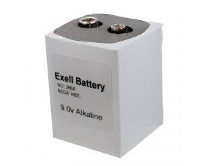 Exell Battery 266 NEDA 1605 Alkaline 9V