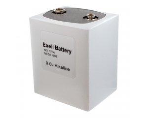 Exell Battery 276 Neda 1603 Alkaline 9V
