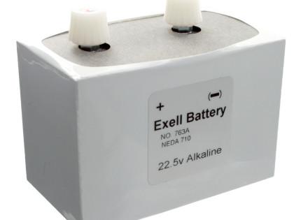 Exell Battery 763 Alkaline Neda 710 22.5V