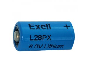 Exell Battery L28PX NEDA 1406LC Lithium 6V