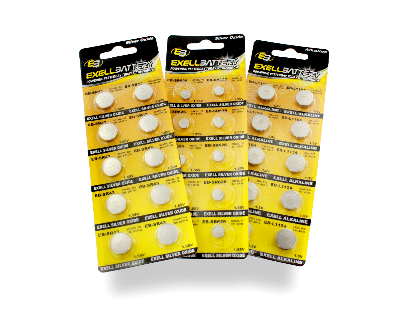 Exell Battery Button Cell Batteries