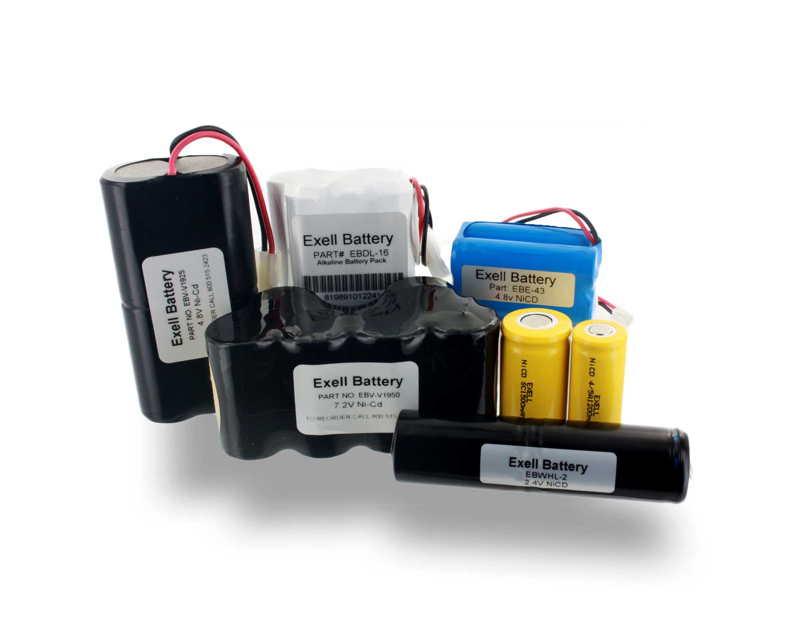 Exell Battery Custom Battery Packs