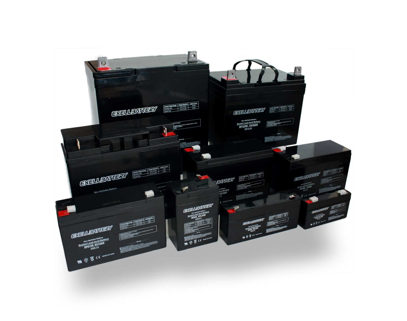 Exell Battery Sealed Lead Acid Battery Group